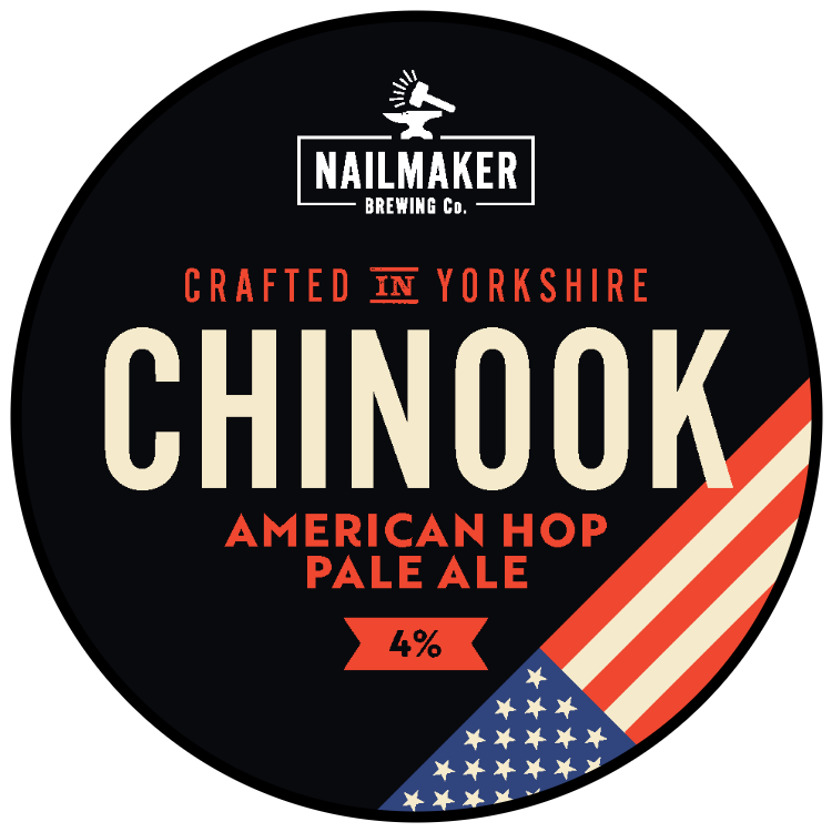 Nailmaker Brewing Co Chinook American Hop Pale Ale 4%