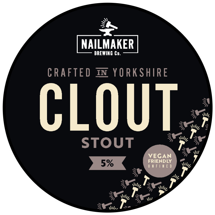 Nailmaker Brewing Co Clout Stout 5%