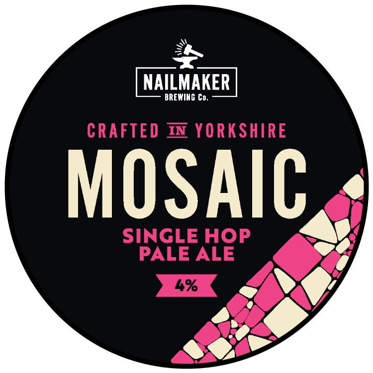 Mosaic Single Hop Golden Ale Nailmaker Brewing Co