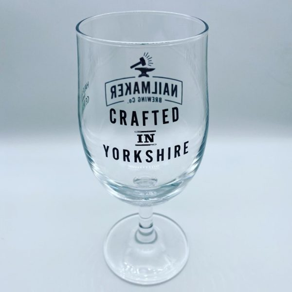 Crafted in Yorkshire Half Pint Glass