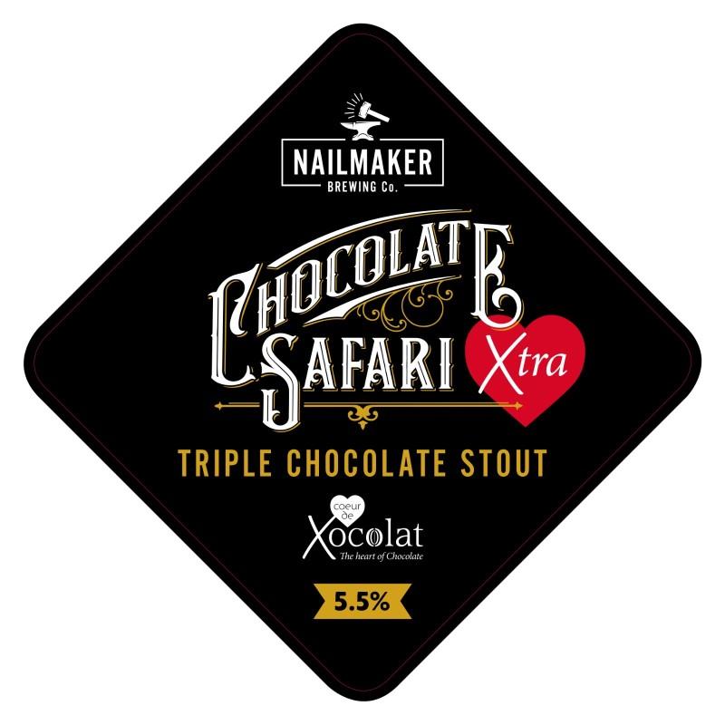 Chocolate Safari Xtra pump clip