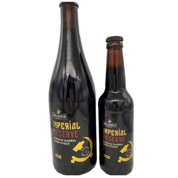 Imperial Reserve Cognac Barrel Aged Stout 750ml 330ml bottles